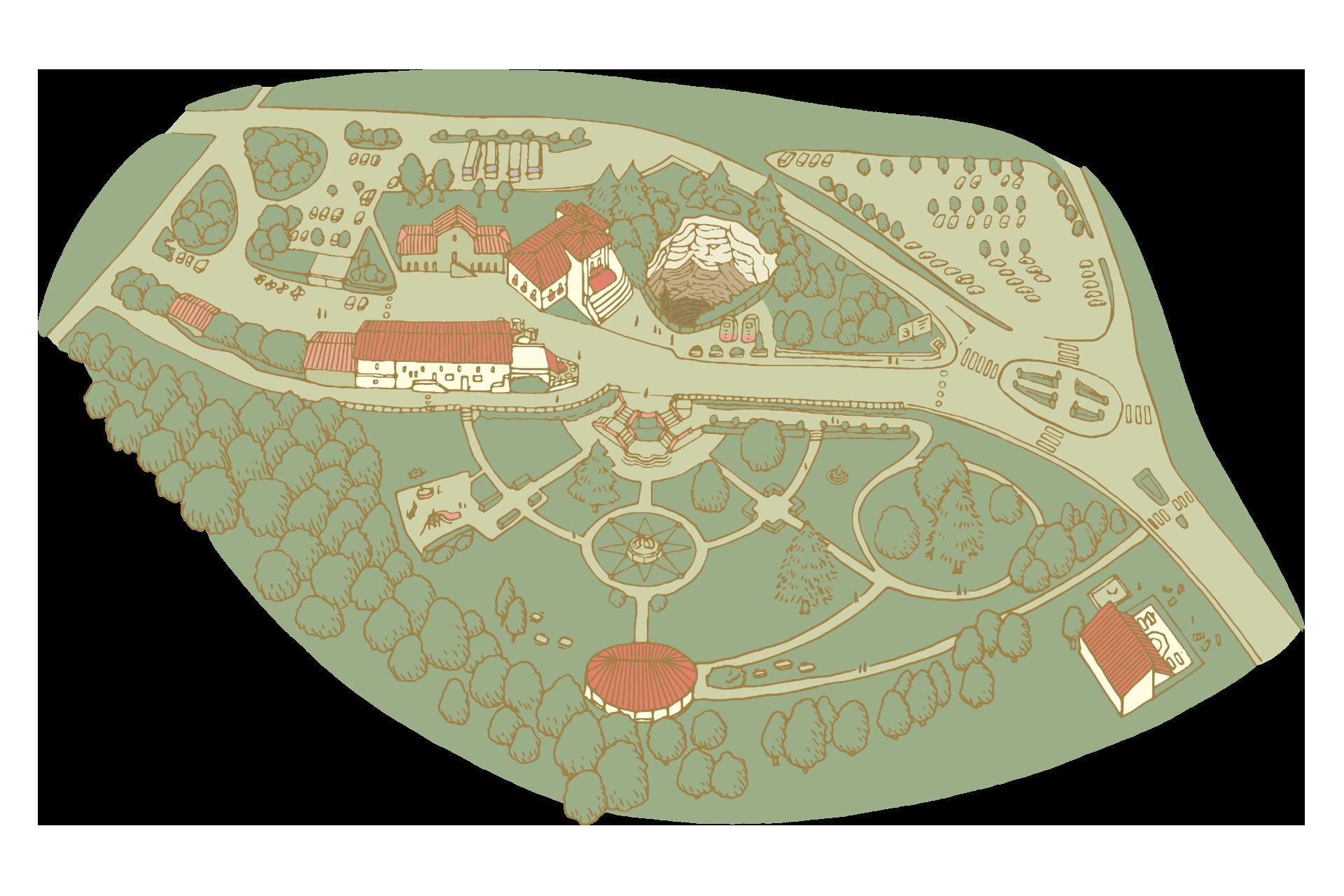 gouffre de padirac carte Interactive Map   Gouffre de Padirac